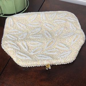 Sequined & Beaded Clutch